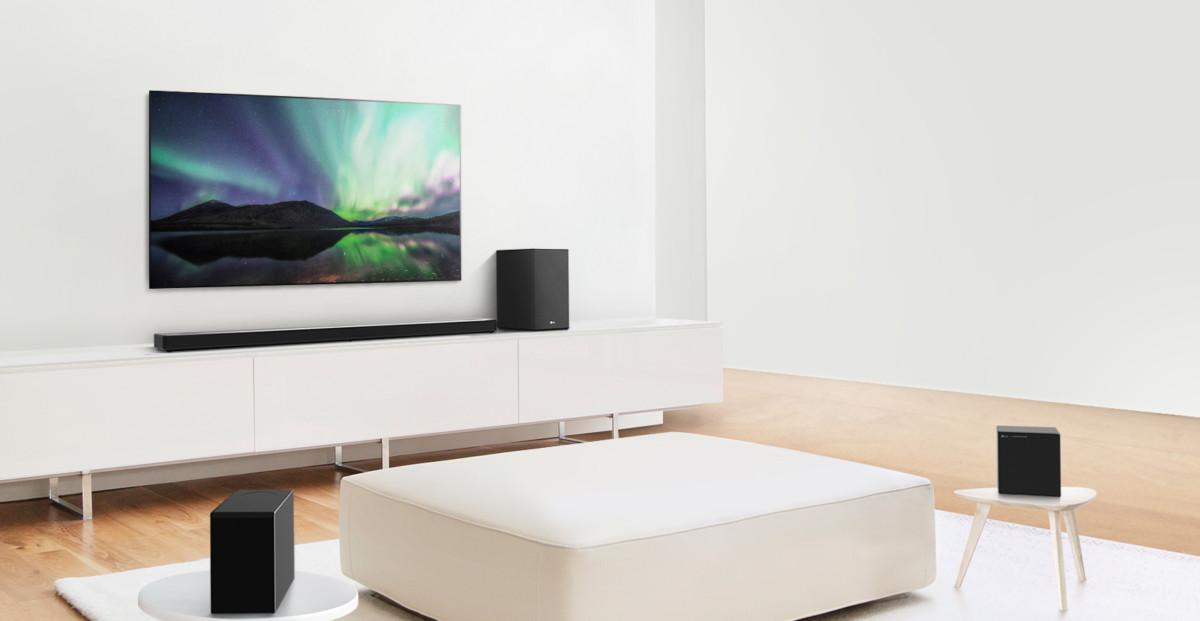 На выставке CES 2020 компания LG Electronics представила линейку саундбаров