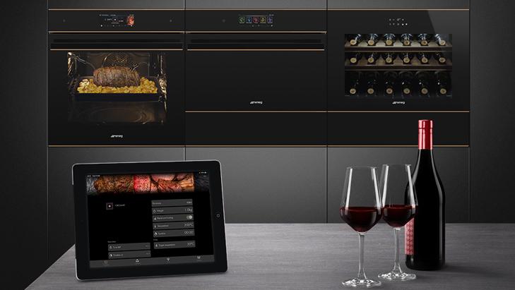 Smeg выпустил новые TFT-дисплеи для нескольких категорий устройств