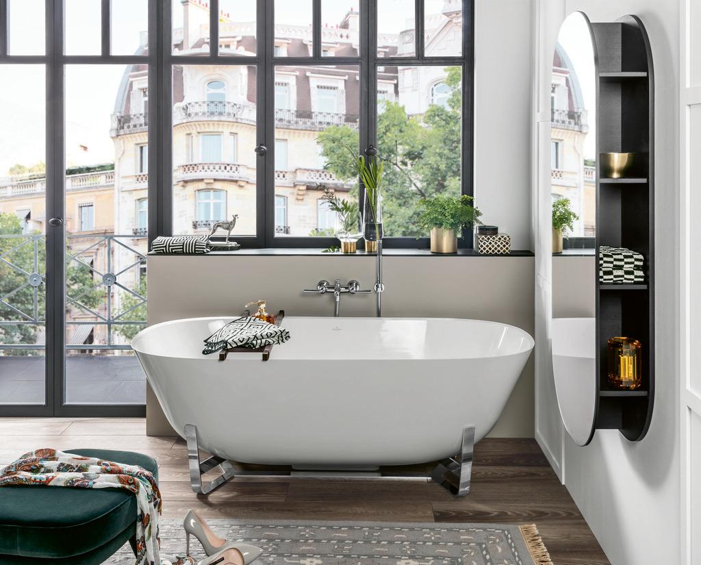 Ванны Villeroy & Boch: дизайн для любой планировки