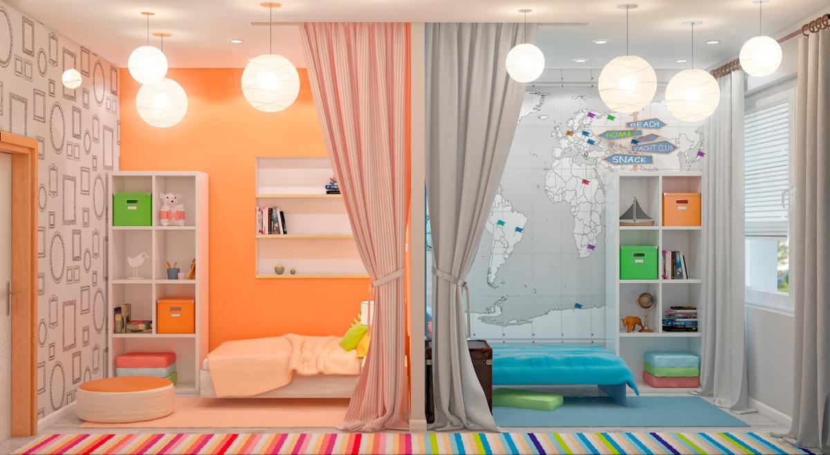 Зонирование комнаты: 25 способов выделить нужную зону в помещении