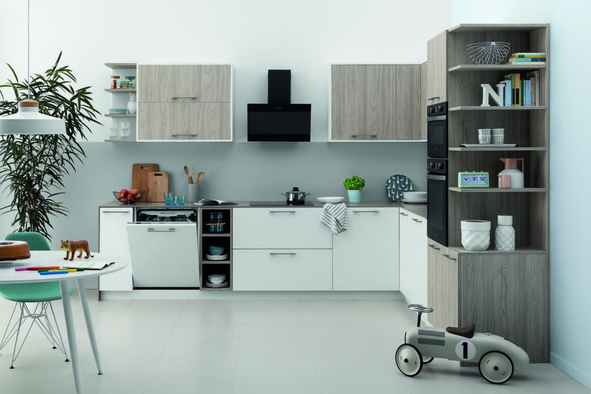 Посудомоечные машины Indesit: чем удивляет производитель