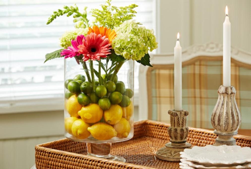 Чем наполнить вазы: 14 идей для стильного декора