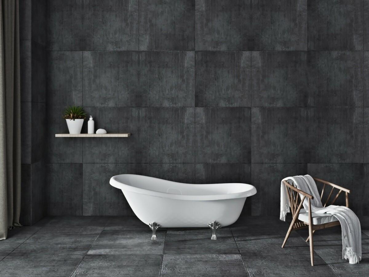 Как просто и элегантно обустроить ванную комнату