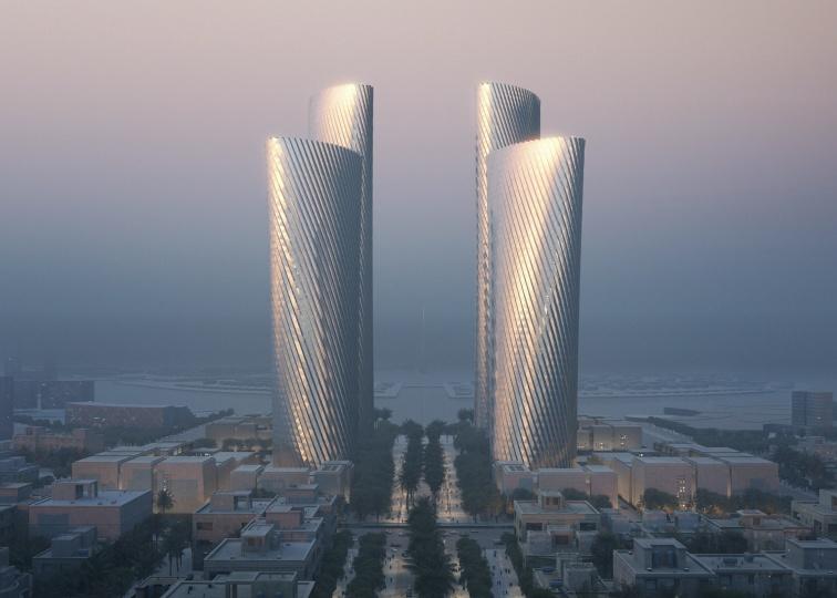 В Катаре построят комплекс небоскрёбов Lusail Towers