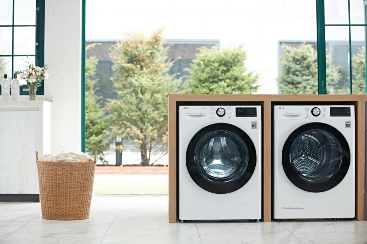 Компания LG Electronics представила новую сушильную машину