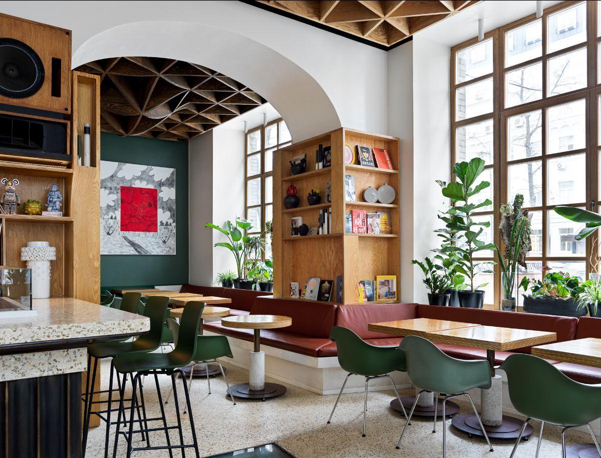 Команда проекта Ess-Thetik спроектировала ресторан Flaner