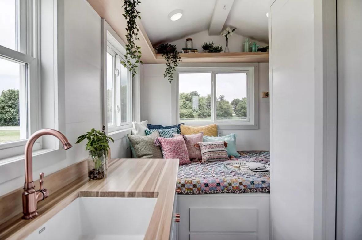 Как сделать уютным свой маленький дачный домик