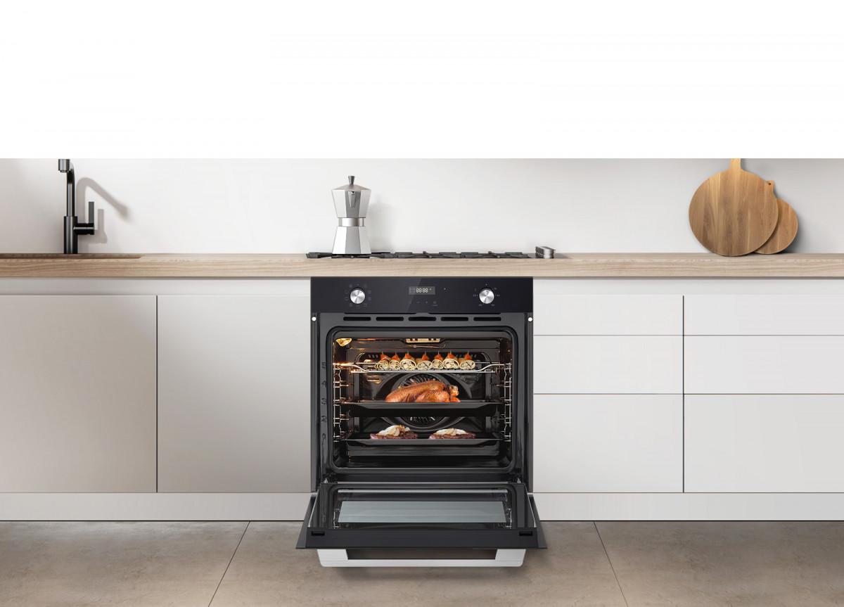 Компания LG выпустила новые встраиваемых модели духовых шкафов, электрических варочных поверхностей и вытяжек