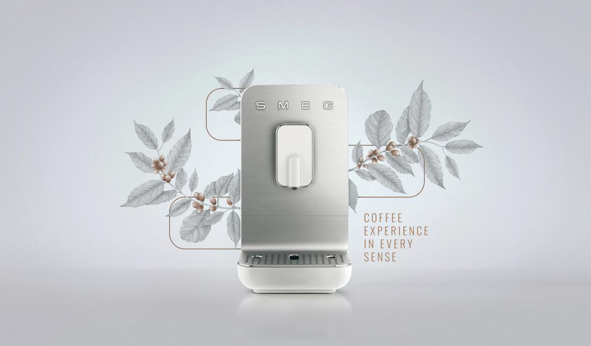 Компания Smeg выпустила кофемашины, которые готовят напитки за несколько секунд