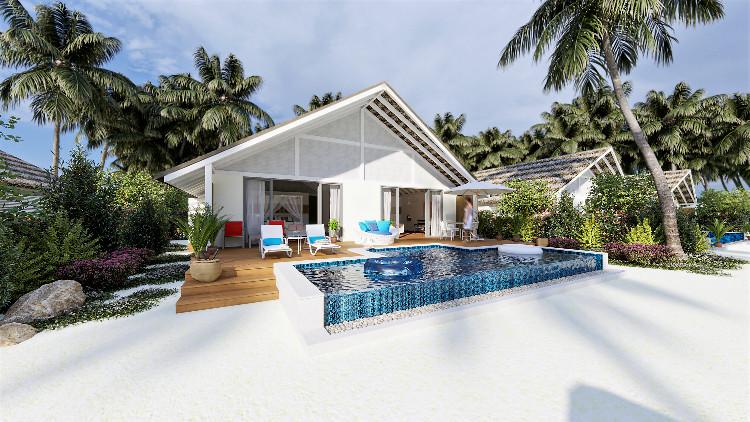 На Мальдивах откроется новый курорт, который совмещает разные виды отдыха